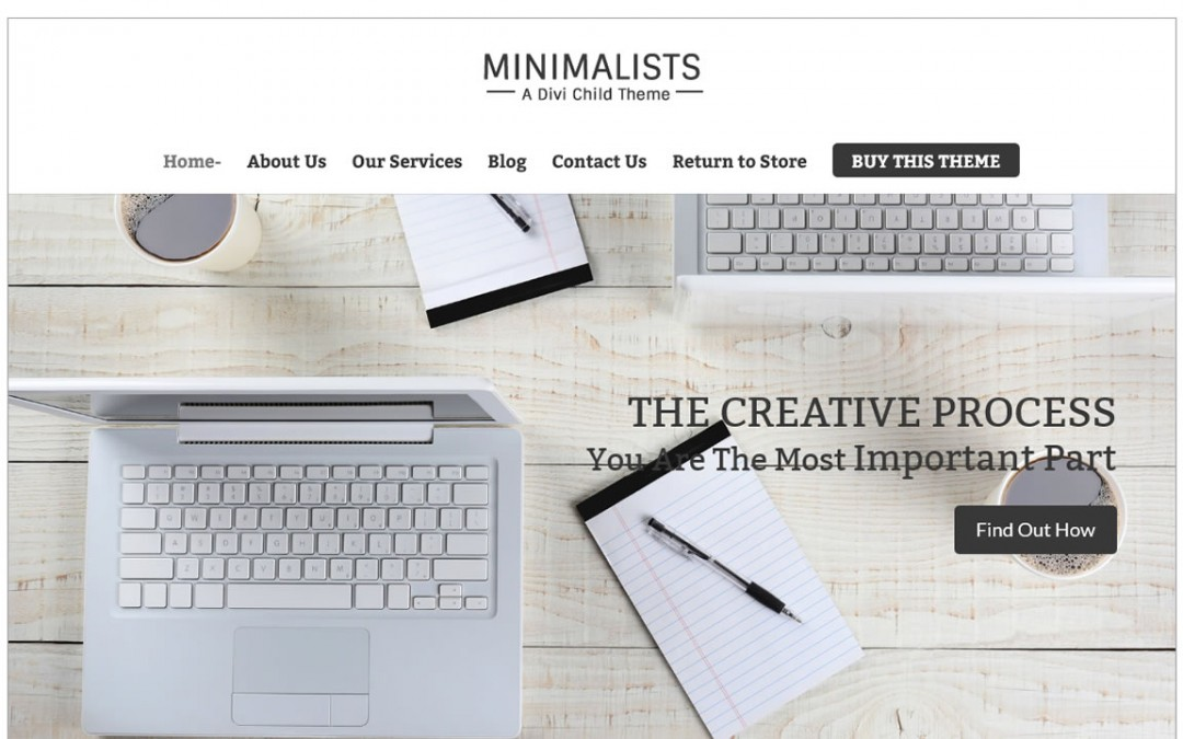 Minimalists Divi Child Theme Tutorial